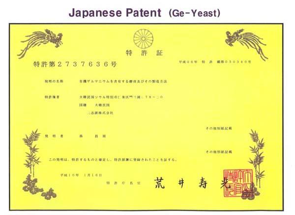 日本国内特許:第2737636号